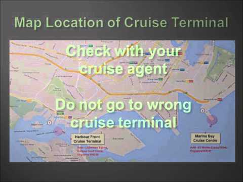 Transport Options between Singapore Cruise Terminal and Airport