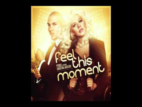Feel This Moment No Rap Clean Christina Aguilera Parts