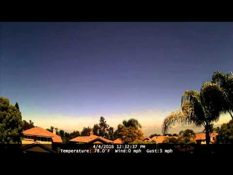 Chino Hills Time-Lapse 4/4/16