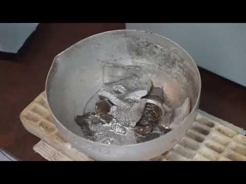 Получение свинцово-оловянного сплава