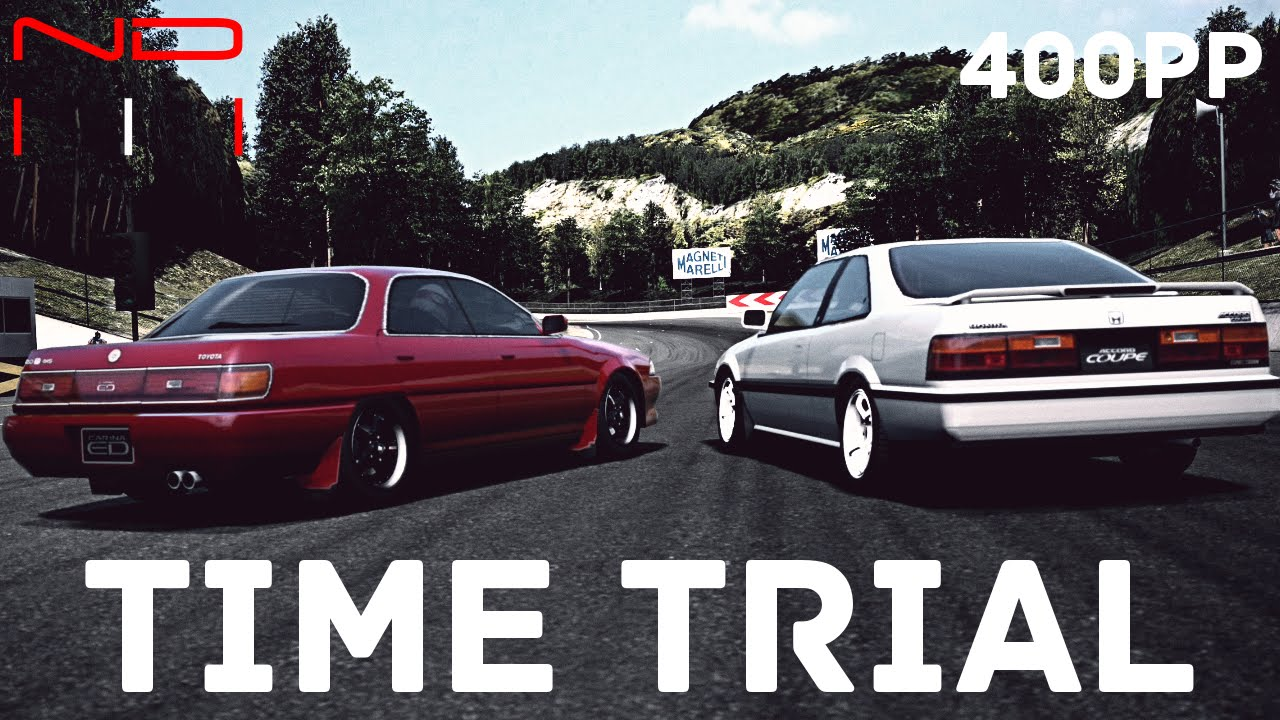 Gt6 Honda Accord Coupe 88 Vs Toyota Carina Ed 2 0 X 4ws 89