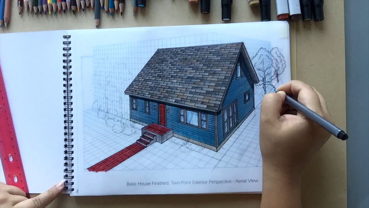 Architectu0027s Drawing Kit: Draw Your Home In 3 D