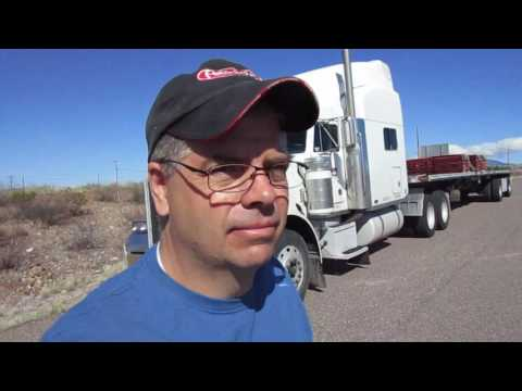 #62 Jake Brake Downshifting Upshifting Beautiful Arizona The Life of an Owner Operator Truck Driver