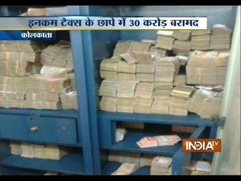 CBDT Raids Kolkata: Seized Rs 30 Crore in Raids across Kolkata, Siliguri - India TV