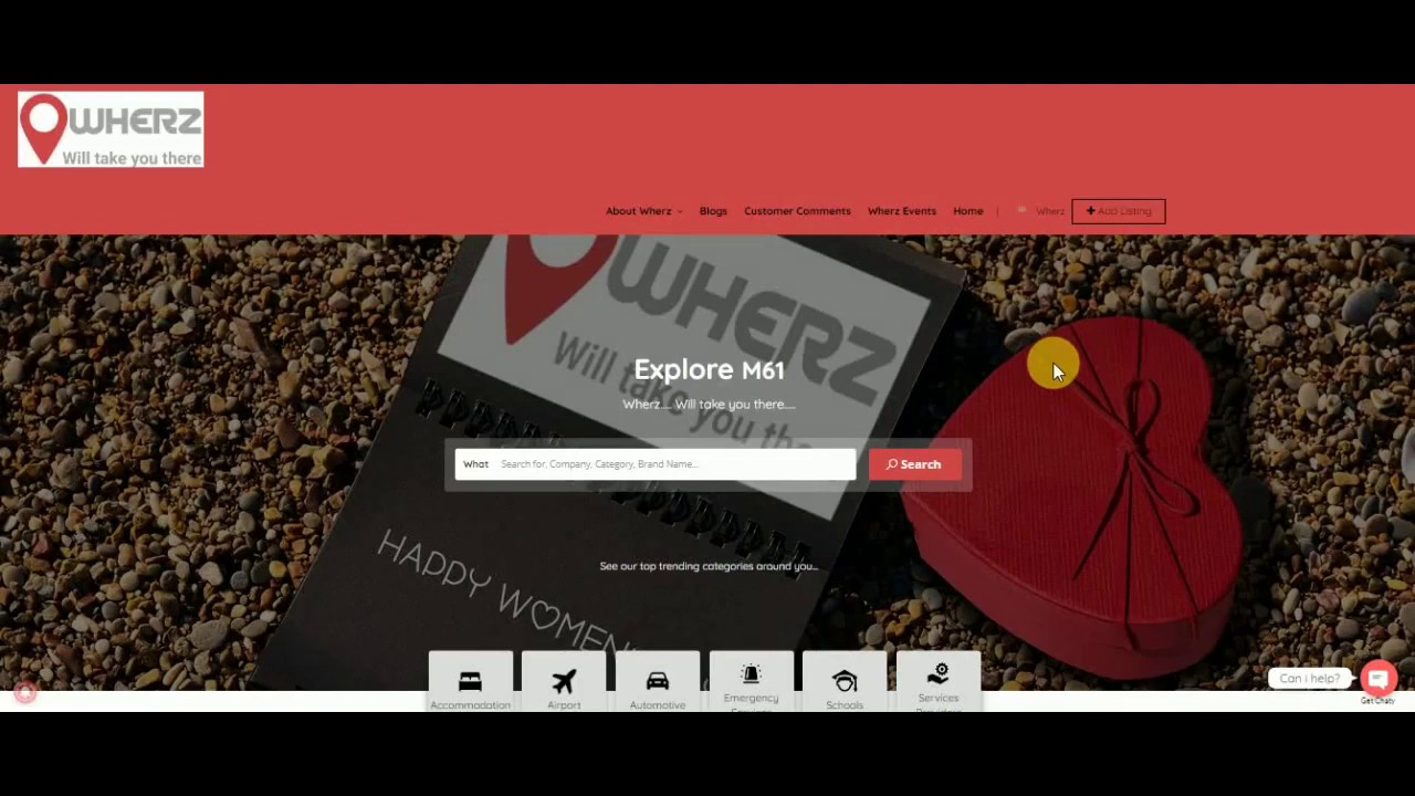 WHERZ ~ Home - Business referral site for any business in