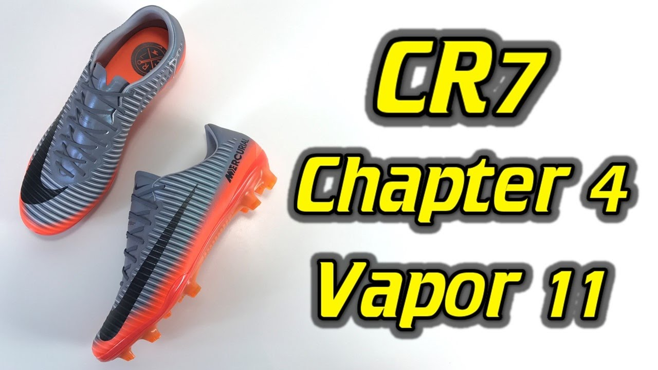 the best attitude 7b1c1 7c4cc CR7 Nike Mercurial Vapor 11 (Chapter 4: Forged for Greatness) - One Take  Review + On Feet