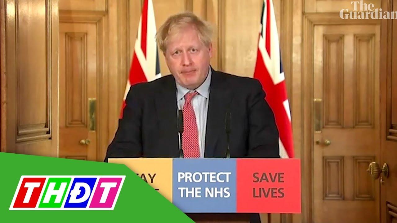 Thủ tướng Anh nhiễm Covid-19 | THDT