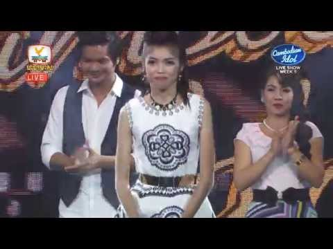 Cambodian Idol | Live Show |Week 5 |​ Results