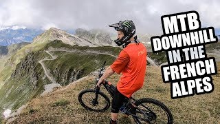 MTB DOWNHILL IN THE FRENCH ALPES