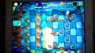 Plants Vs Zombies 2 Dark Ages Night 6 Last Stand No Plant Food Strategy