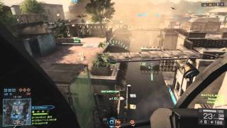 Battlefield 4 PS4- Some good flying i did in one obliteration game . technical flying