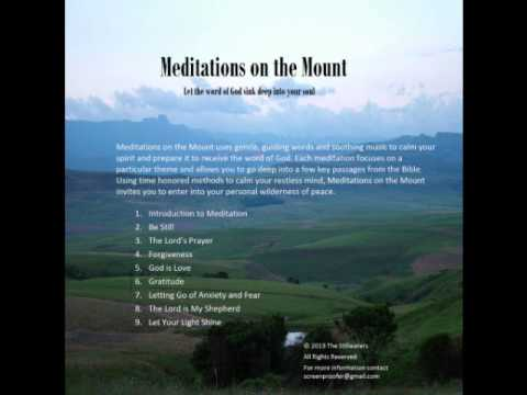 The Lord is My Shepherd - Christian Meditation - Meditations on the Mount