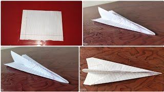 How to Make A Paper Aeroplane (Jet) Very Easy Art Craft DIY Origami By Magical Abhinav Crafts