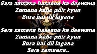 Haseeno Ka Deewana  Kaabil  Hrithik Roshan   Lyrics Song2016t-series