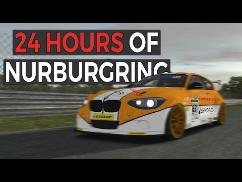 24 Hours of Nurburgring - A Day Through The Forest! - P1 Gaming - rFactor 2 Endurance