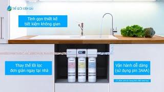 Máy lọc nước Panasonic TK-CB430 công nghệ UF siêu lọc giữ trọn vi khoáng tự nhiên có lợi