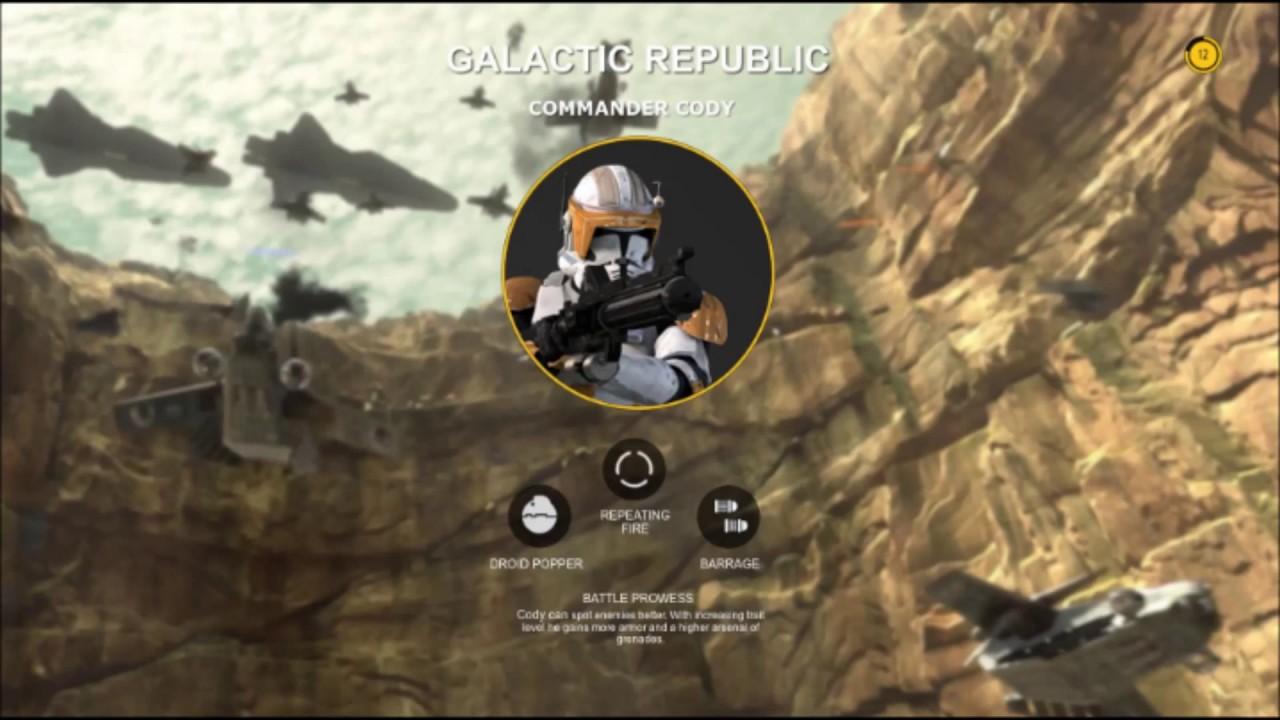 EA Star Wars Battlefront 2 2017 Clone Hero Concepts