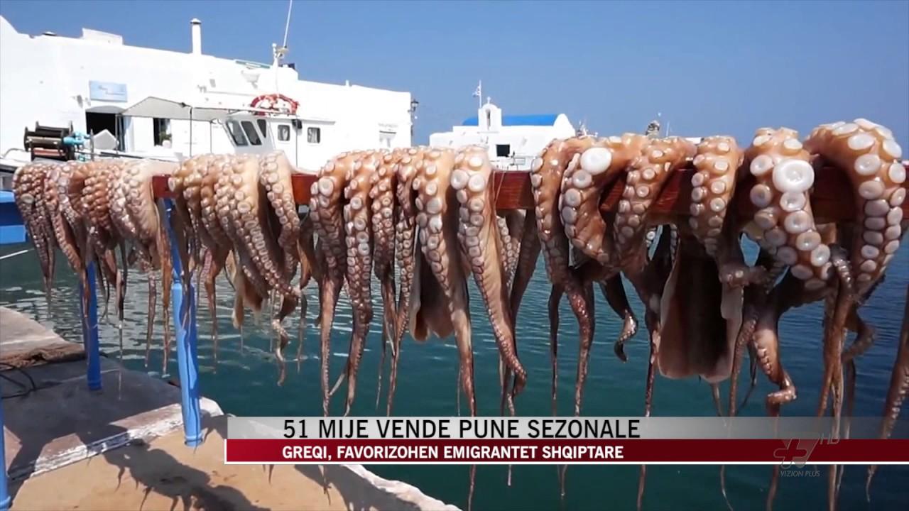 Greqia kërkon 51 mijë punëtorë sezonal, favorizohen shqiptarët - News,  Lajme - Vizion Plus