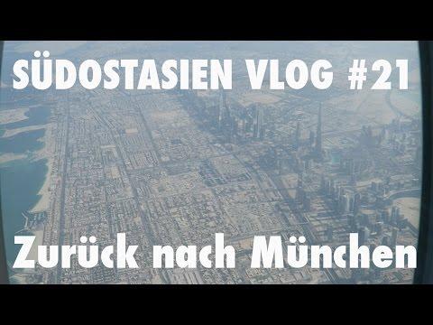 Südostasien Vlog #21 - Mit Emirates von Singapur über Dubai zurück nach München