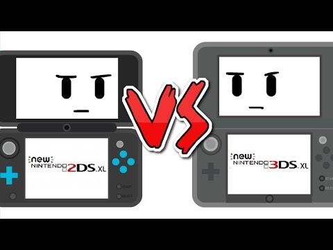 New 2DS XL vs New 3DS XL | Kabloosh animations