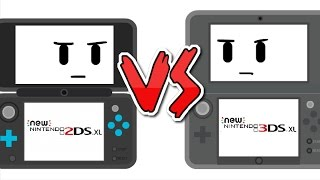 new 2ds xl vs new 3ds xl   kabloosh animations