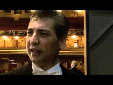 SF Opera Music Director Nicola Luisotti After Aida