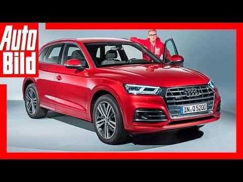 Audi Q5 (2016) Sitzprobe/Details/Sitzprobe