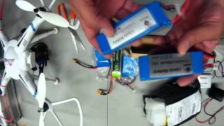 Review and testing CHEAP LIPO BATTERY for QUAD