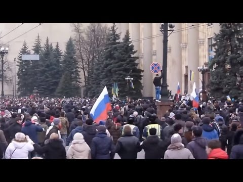 Ukraine War - Russian subversives seize Kharkiv city council in Ukraine