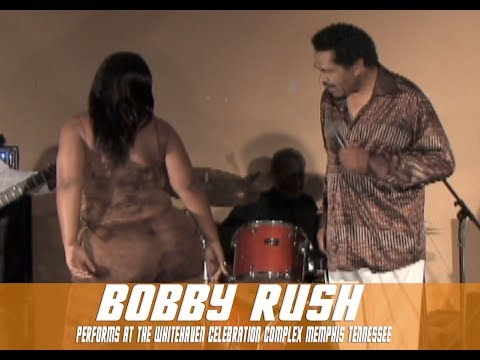 Bobby Rush performs at the Whitehaven celebration complex Memphis Tennessee