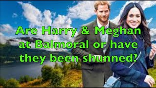 Are Harry amp Meghan on the way to Balmoral