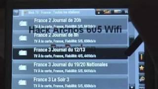Hack Archos 605