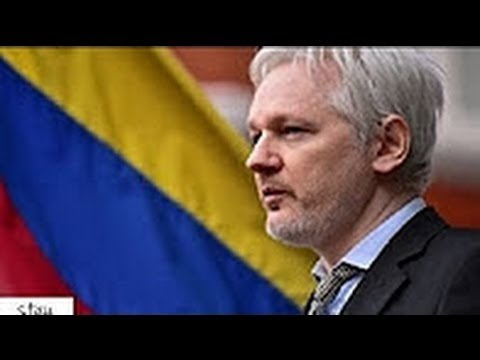 Julian ASSANGE speech at the Ecuadorian Embassy !! (NEW)