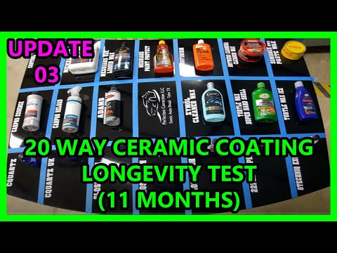 Update 04 20 Way Ceramic Coating Synthetic Wax Longevi