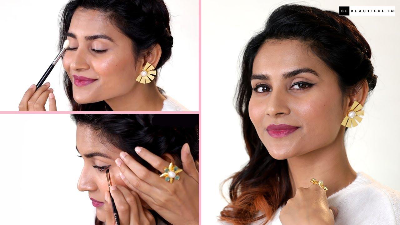How To Apply Gel Eyeliner | Eyeliner Tutorial For Beginners | Eye Makeup Tutorial | Be Beautiful