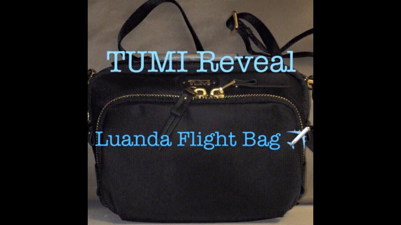 TUMI Luanda Flight Bag Reveal - YouTube 7dab7bf00092a