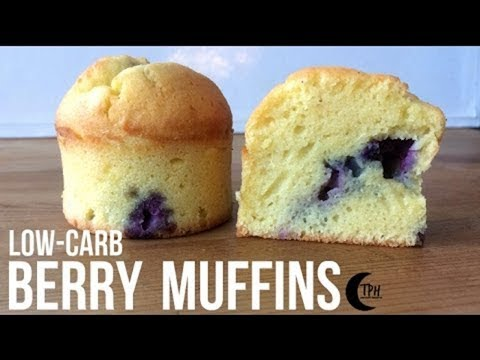 keto-blueberry-muffins-|-low-carb-berry-breakfast-muffins-|-keto-recipes