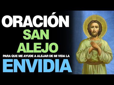 🙏 Oración a San Alejo para ALEJAR ENEMIGOS, ENVIDIAS Y TRAICIONES OCULTAS 🙇