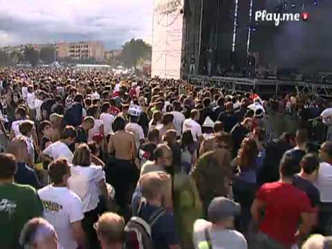 Marracash FINO A QUI TUTTO BENE + BADABUM CHA CHA Live @ Woodstock 5 Stelle