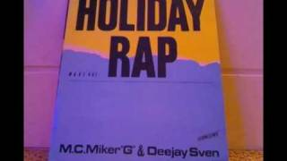 Mc Micker & Dj Sven - Holiday Rap(Instrumental Version) LP Version