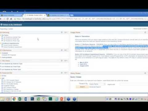 CalCentral for Advising: Queries