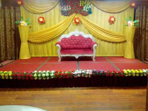 Madurai Decorators Engagement Stage Decoration In Jc Residency
