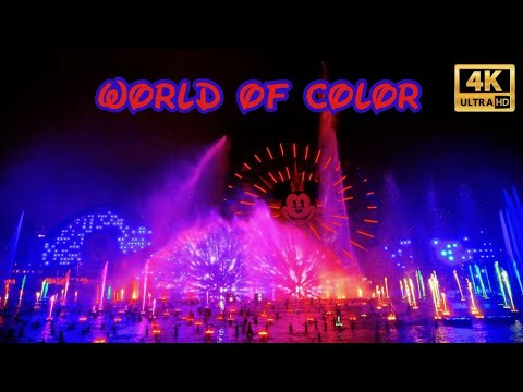 4K World Of Color | Front Row | 2019