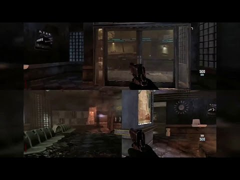 PS3 Call of Duty Black Ops 2 Zombies - 2 player splitscreen - Chris and  Craig