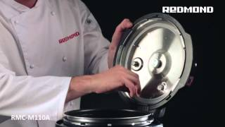 How to clean and to wash the Pressure Multi Cooker REDMOND RMC-M110A
