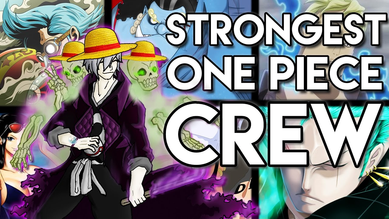 The Strongest Crew In One Piece REVEALED! - One Piece Pirate Crew Tag  6b805e44f77