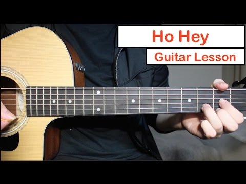 Ho Hey - The Lumineers | Guitar Lesson (Tutorial) How to play Chords