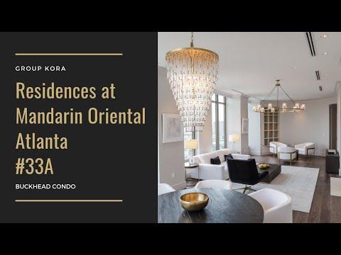 The Residences at Mandarin Oriental, Atlanta  #33A | Buckhead Condos for Sale