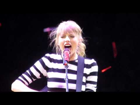 Taylor Swift - You're Not Sorry ( Red Tour 4-11-13 Orlando, FL )