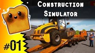 Construction Simulator 2015 po Polsku #1 - Zaczynamy!